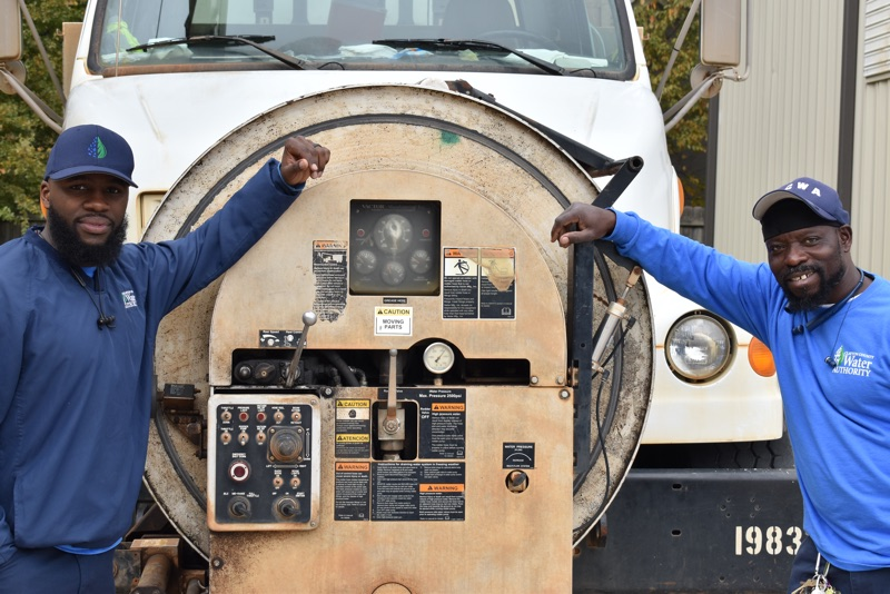 Behind the Tap Series: Vac Truck Crew