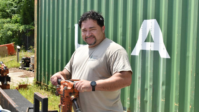 Behind the Tap Series: Distribution & Conveyance Equipment Operator Carlos Bajana