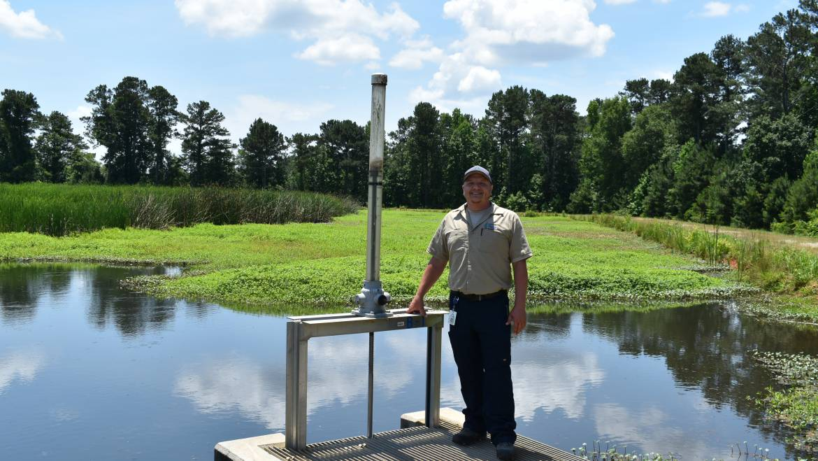 Behind the Tap Series: NTS Wastewater Plant Operator Daniel Salmons