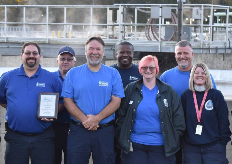 CCWA Earns Industry Awards For Plant of the Year, Top Wastewater Op and Top Maintenance Mechanic