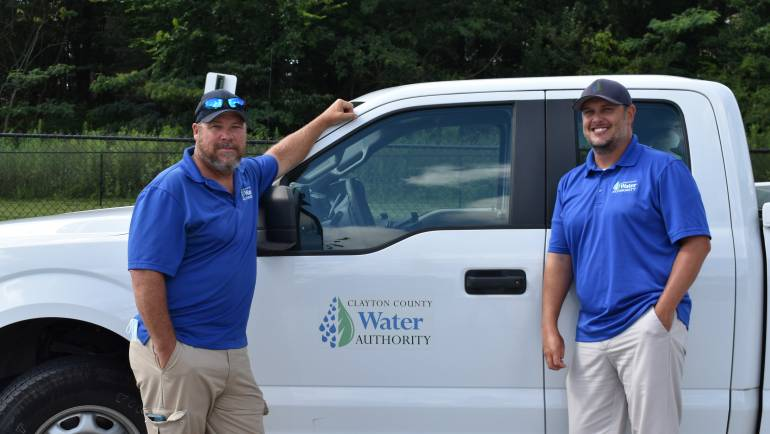 Behind the Tap: Leak Detection Crew Kevin Chapman and Chris Biles
