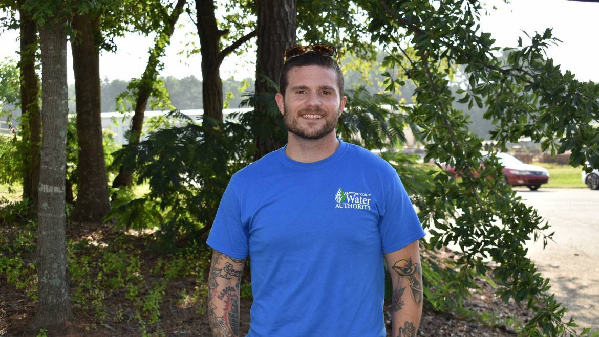 CCWA Behind the Tap Spotlight –Meter Services Account Services Dispatcher Phil Danford