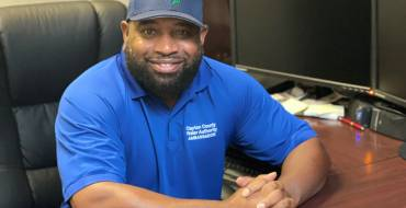 CCWA Behind the Tap Spotlight: Stormwater Maintenance Manager Marcus McLester
