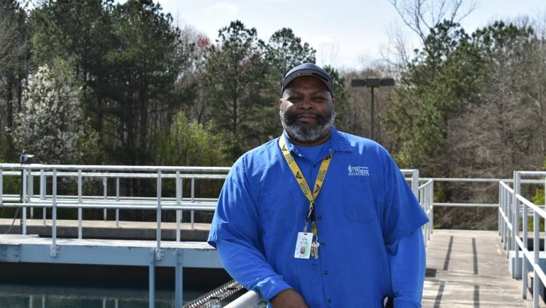 Behind the Tap Spotlight:  Water Production Plant Operator Dennis Ward