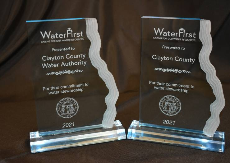 Clayton County Water Authority and Clayton County Government Receive WaterFirst Designation