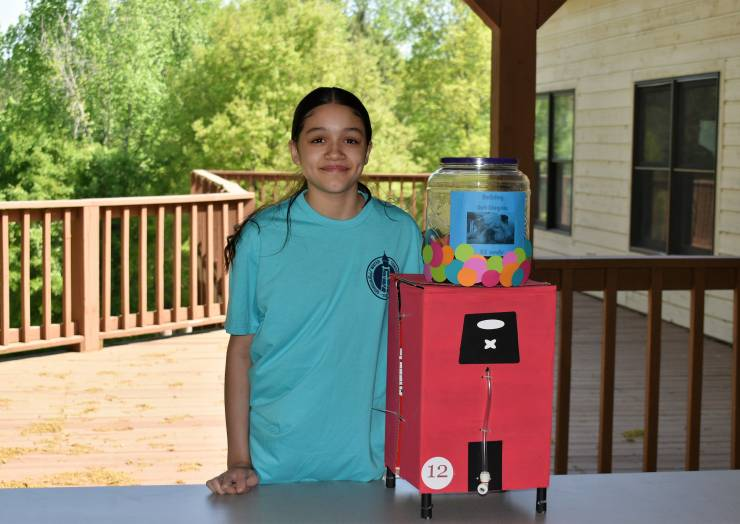 Babb, Rex Mill and Mundy's Mill Middle School Students Recognized  for Winning Model Water Towers