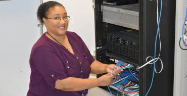 Behind the Tap Spotlight:  I.T. Systems Administrator Nadia Brunson