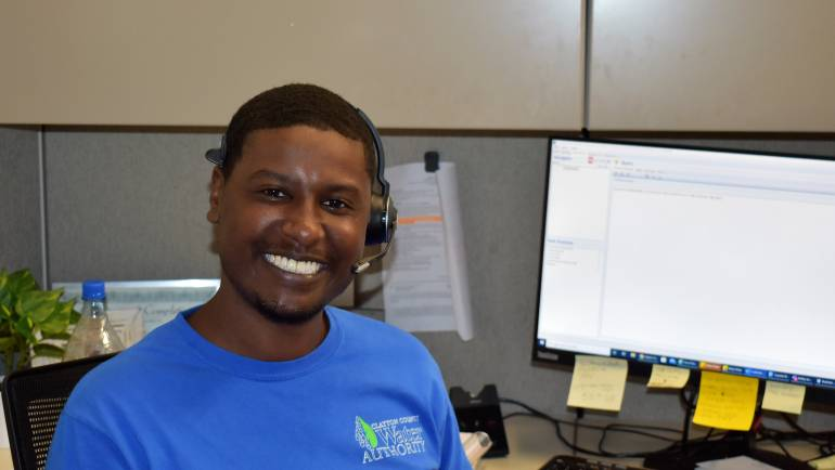 Behind the Tap Spotlight:  Call Center Lead Justin Burns