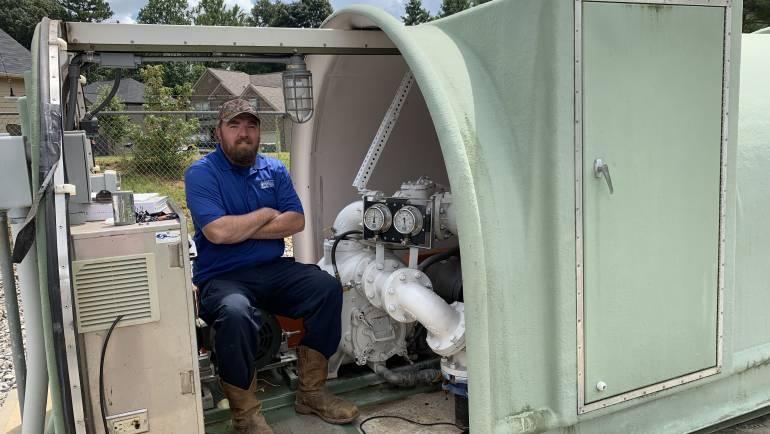 Behind the Tap Spotlight:  Lift Station/Preventative Maintenance Specialist Denver Huey